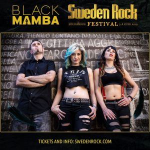 Black Mamba Sweden Rock 2019