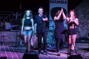 black mamba hard rock live show acquasparta